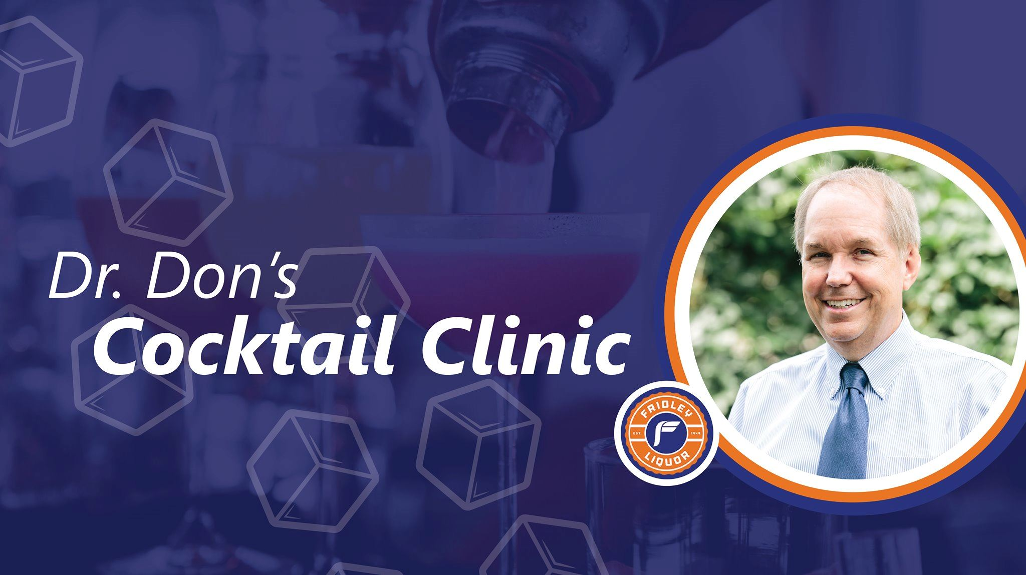 Dr. Don Cocktail Clinic graphic